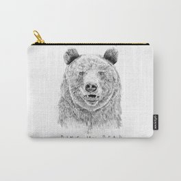 Ring my bear (bw) Carry-All Pouch