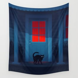 Houselights Wall Tapestry