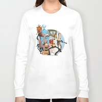 metal gear Long Sleeve T-shirts featuring METAL GEAR RICK by Philtomato