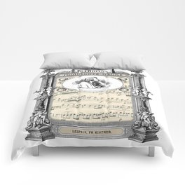 Frederick Chopin Polonaise art Comforters