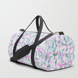 Resolve Pink Blue Duffle Bag