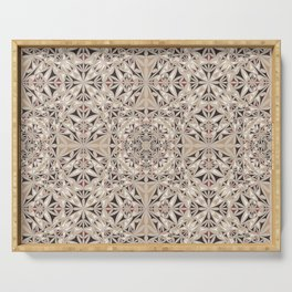 Cappuccino pattern Serving Tray