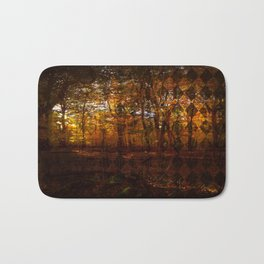 Forest of Diamonds Bath Mat