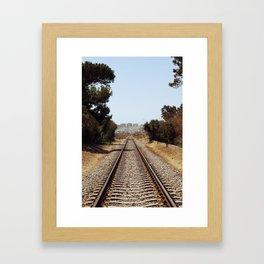 Tracks......... Framed Art Print