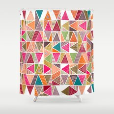 Roof Colorful Shower Curtain