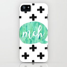 meh: answer to everything iPhone Case