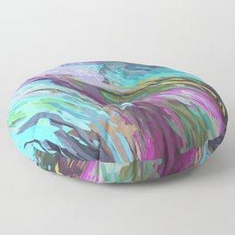 471 - Abstract colour Design Floor Pillow