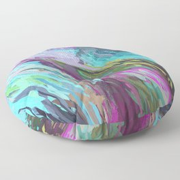 471 - Abstract colour Design Floor Pillow