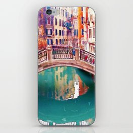 Small Bridge in Venice iPhone Skin