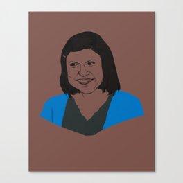 Kelly Rajnigandha Kapoor Canvas Print