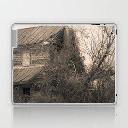 Engulfed House with Vines (Untitled Sepia 1) Laptop & iPad Skin