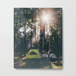 Camp Vibes & Sunshine Metal Print