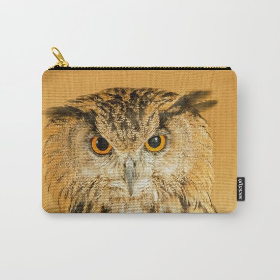 OWL RIGHT ON THE NIGHT Carry-All Pouch