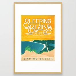 Sleeping Bear Dunes Framed Art Print
