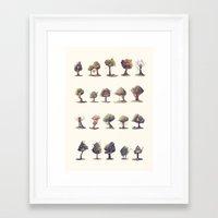 the neighbourhood Framed Art Prints featuring Neighbourhood by Sam Lyne