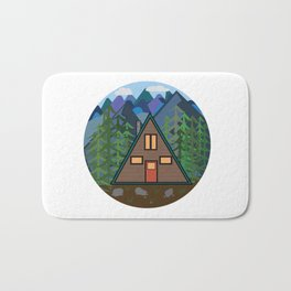 Mountain Home Bath Mat