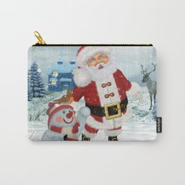 Funny Santa Claus Carry-All Pouch