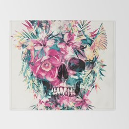 Memento Mori Throw Blanket