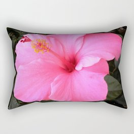 Hot pink Rectangular Pillow