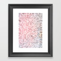 Retro Pattern Framed Art Print