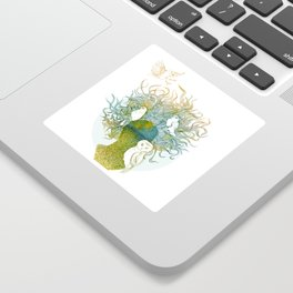 Spring birds Sticker