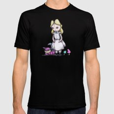 Plush Alice X-LARGE Mens Fitted Tee Black