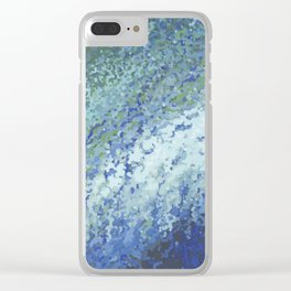 Ocean City Surf Clear iPhone Case