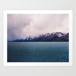 Eternity Here - Mountain Lake Art Print