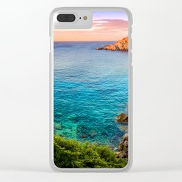 Closely Beauty Clear iPhone Case