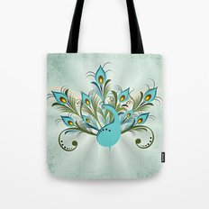 Just a Peacock Tote Bag