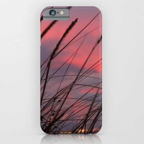 Sunset through the Reeds iPhone & iPod Case