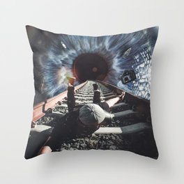 Falling in My Eye by GEN Z Throw Pillow