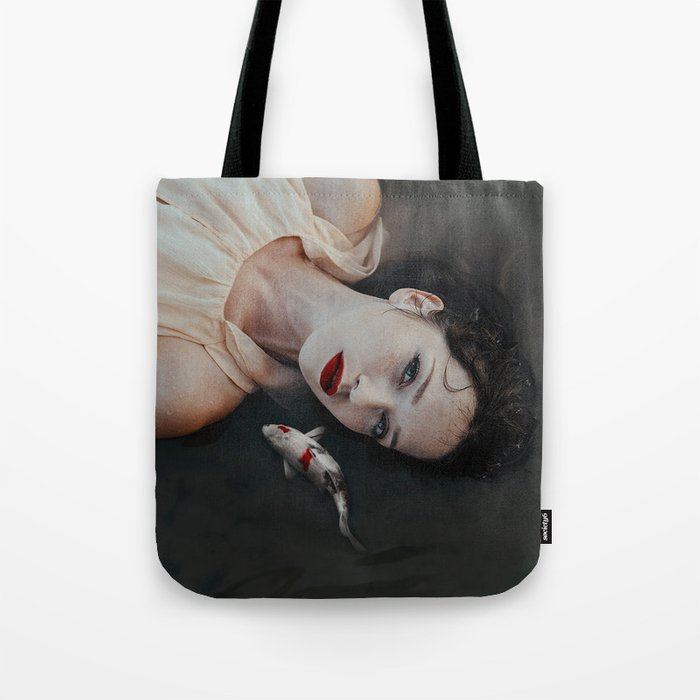 Girlfish Tote Bag