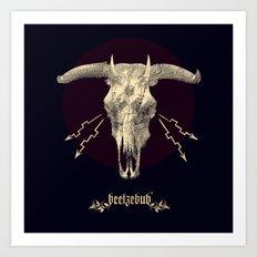 Beelzebub ♆ Art Print