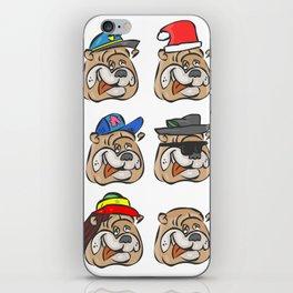 Full dogs iPhone Skin
