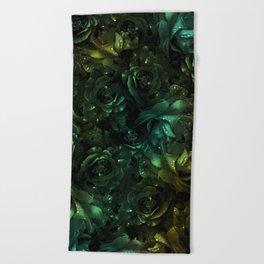 flowers 44 Beach Towel