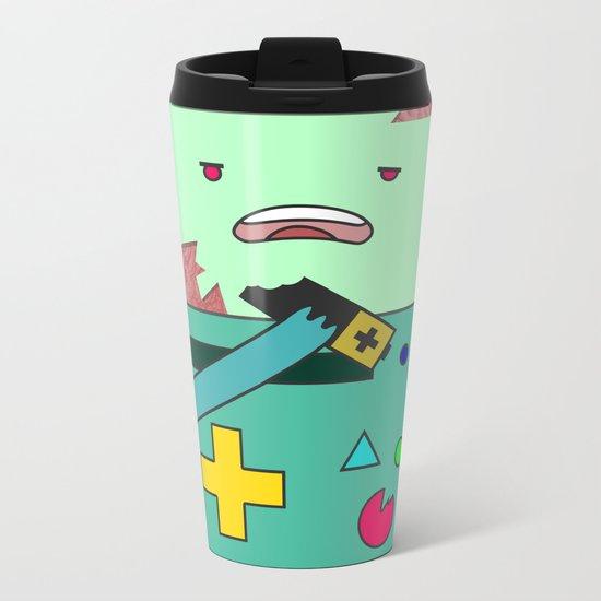 Zom-BMO Metal Travel Mug
