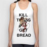 teen titans Tank Tops featuring Kill Titans, Get Bread by Octoroxxx