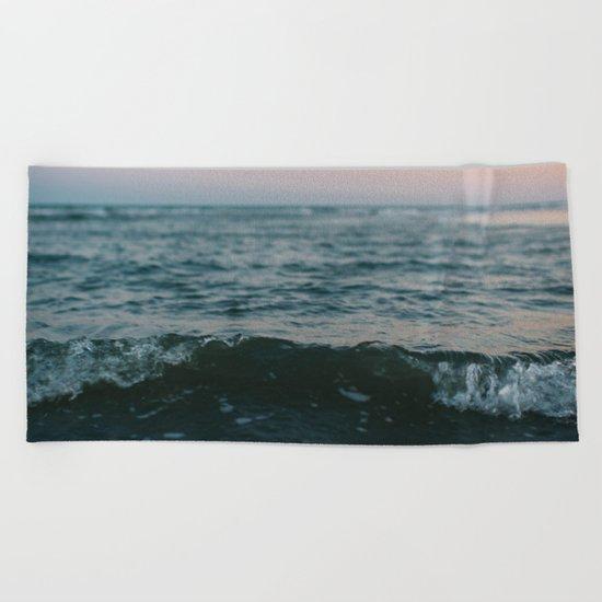 Dark Paradise Beach Towel