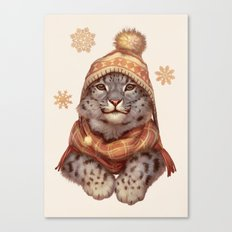 Beanie Weather Canvas Print