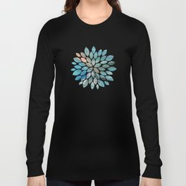 Pearl marble abstraction Long Sleeve T-shirt