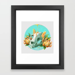 Clem-mew-tine Framed Art Print