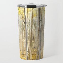 Fall Colors, Yellow Woods Travel Mug