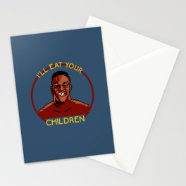 I'll Eat Your Children Stationery Cards