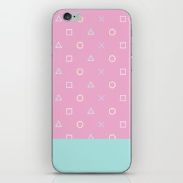 Gamer Girl - Pastel Playstation Controller Buttons iPhone Skin