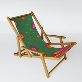 Retro Blooming Sling Chair