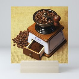 coffee grinder 3 Mini Art Print