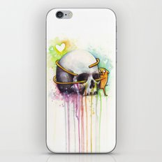 Jake and Skull iPhone & iPod Skin