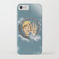 baloon iPhone & iPod Cases featuring Charlie baloon by Arry Design