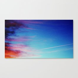Colorful Sunset Clouds Canvas Print